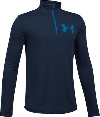 Under Armour Boys' UA Textured Tech 1/4 Zip Top
