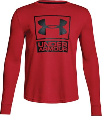 Under Armour Boys' UA Textured Tech Crew Neck Top