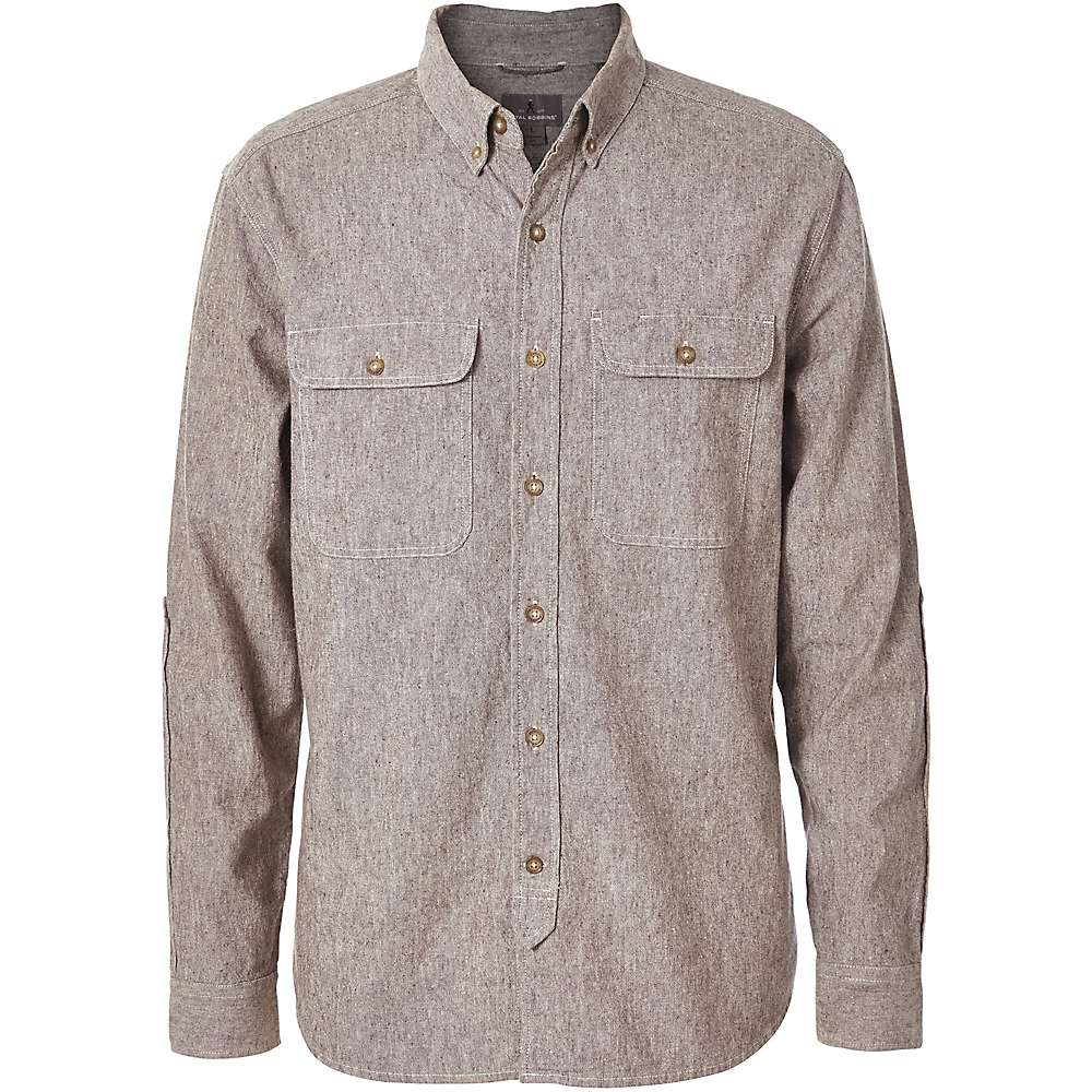Royal robbins men 39 s headwall chambray ls shirt moosejaw for Chambray 7 s