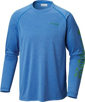 Columbia Men's Terminal Tackle Heather LS Shirt