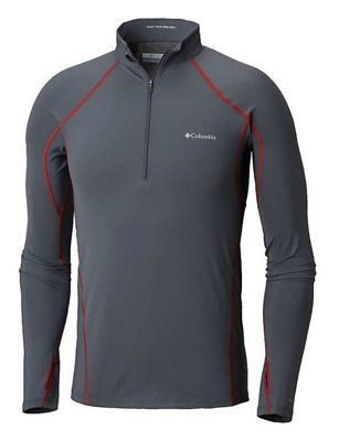 Columbia Men's Midweight Stretch Long Sleeve Half Zip