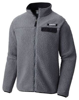 Columbia Men's Mountain Side Heavyweight Fleece Full Zip
