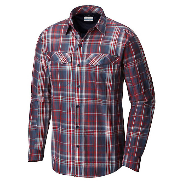 d15f8fadabd Columbia Men's Silver Ridge Plaid Long Sleeve Shirt - Moosejaw