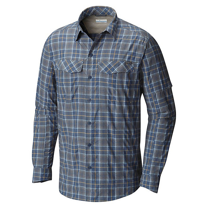 161ec9824 Columbia Men's Silver Ridge Plaid Long Sleeve Shirt - Moosejaw