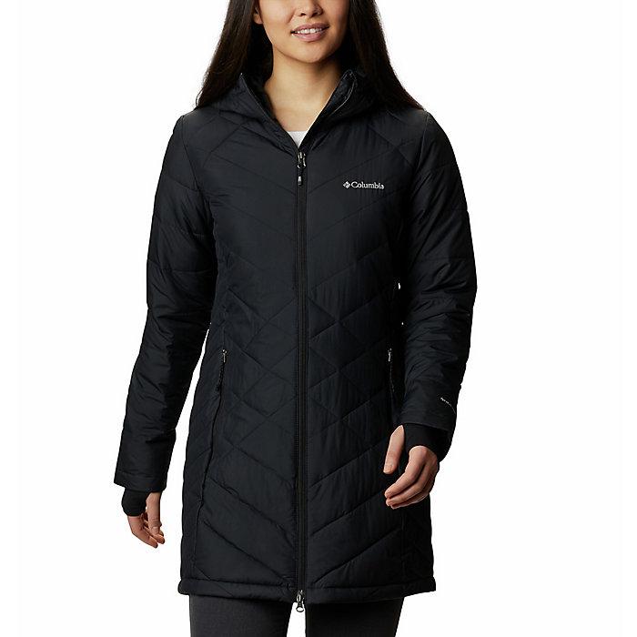 a0316a81c6a Columbia Women's Heavenly Long Hooded Jacket - Moosejaw