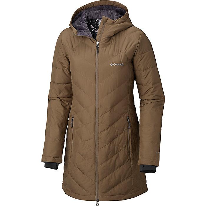 924bdc48a Columbia Women's Heavenly Long Hooded Jacket - Moosejaw