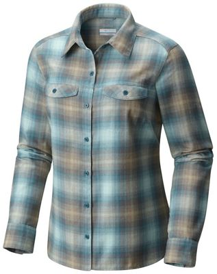Columbia Women's Silver Ridge Long Sleeve Flannel