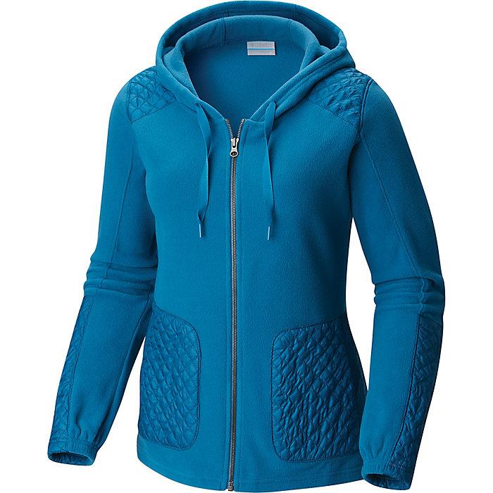 6169b21a5 Columbia Women's Warm Up Hooded Fleece Full Zip - Moosejaw