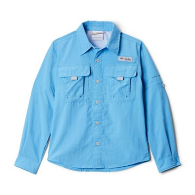 Columbia Youth Boys' Bahama LS Shirt