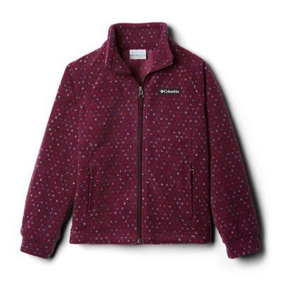 Columbia Youth Girls' Benton Springs II Printed Fleece Jacket