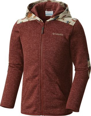 Columbia Youth Boys' Birch Woods II Full-Zip Fleece Jacket