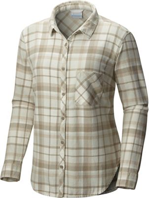 Columbia Women's Deschutes River Flannel LS Shirt