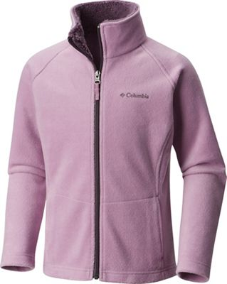 Columbia Youth Girls' Dotswarm II Fleece Full Zip Jacket