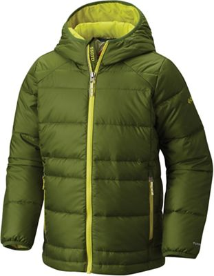 Columbia Youth Boys' Gold 550 TurboDown Hooded Down Jacket