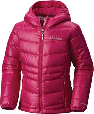 Columbia Youth Girls' Gold 550 TurboDown Hooded Down Jacket