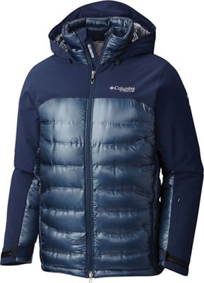 Columbia Titanium Men's HeatZone 1000 TurboDown Hooded Jacket