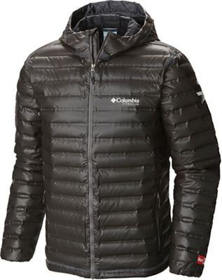 Columbia Titanium Men's OutDry Gold Down Hooded Jacket