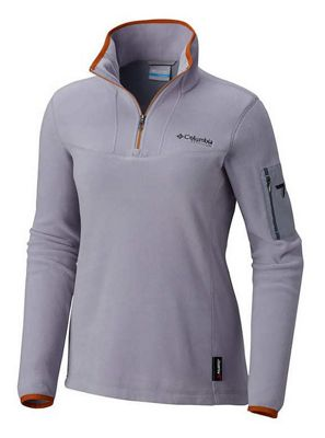 Columbia Titanium Women's Titan Pass II 1.0 Half Zip Fleece Jacket