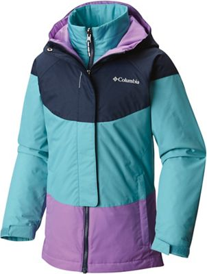 Columbia Youth Girls' Whirlibird Interchange Jacket
