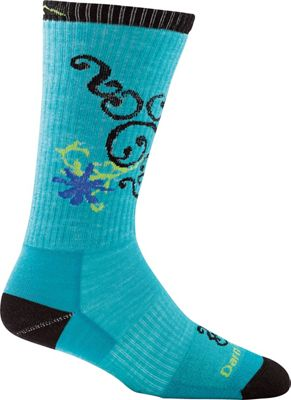 Darn Tough Women's BA Betty Crew Ultra-Light with Full Cush Toe/Leg Sock