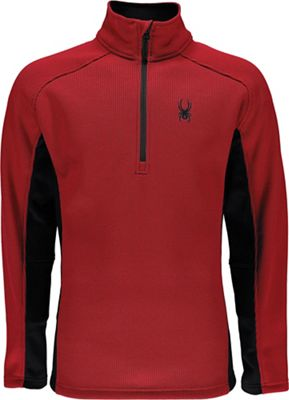 Spyder Men's Outbound Half Zip Mid Wt Jacket