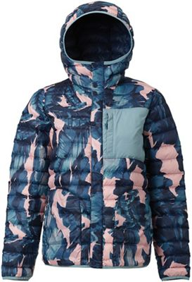 Burton Women's Aliz Evergreen Down Hooded Insulator Jacket
