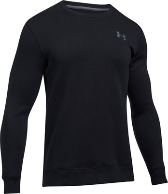 Under Armour Men's Rival Solid Fitted Crew Neck Sweatshirt