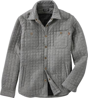 Timberland Men's Gunstock River Lightweight Microquilt Overshirt with Primaloft