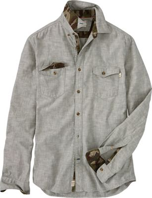 Timberland Men's Mumford River Camo Chambray Shirt