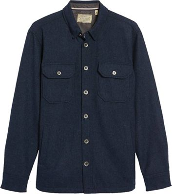 Jeremiah Men's Creek Wool Herringbone Shirt Jacket