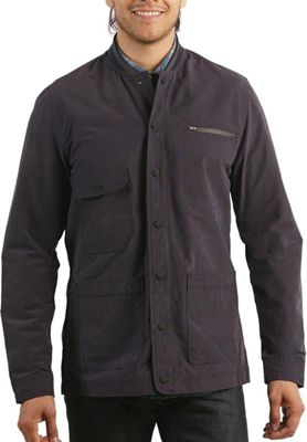 Jeremiah Men's Jarvis Coated Bomber Shirt Jacket