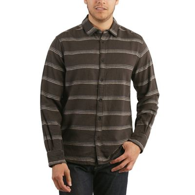 Jeremiah Men's McKinley Cotton Linen Stripe Top
