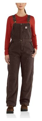 Carhartt Women's Weathered Duck Wildwood Overalls Bib