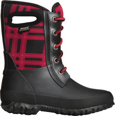 Bogs Kids' Amanda Winter Plaid Boot