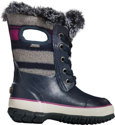 Bogs Kids' Arcata Wool Stripe Boot