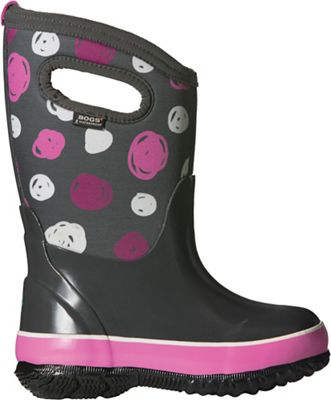Bogs Kids' Classic Sketched Dots Boot
