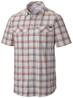 Columbia Men's Silver Ridge Multi Plaid SS Shirt