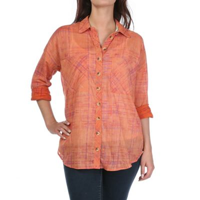 Free People Women's Shore Vibes Buttondown Top