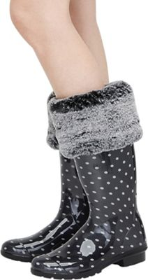 Ugg Women's Faux Fur Tall Rainboot Sock