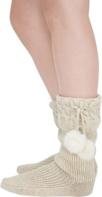 Ugg Women's Pom Pom Tall Rainboot Sock