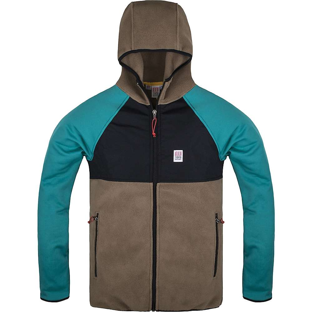 Topo Designs Men's Fleece Hoodie Jacket - Moosejaw