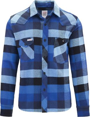 Topo Designs Men's Heavyweight Flannel Work Shirt