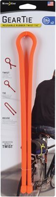 Nite Ize Gear Tie Reusable Rubber Twist Tie - 24IN