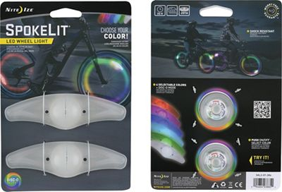 Nite Ize SpokeLit LED Wheel Light - 2 Pack