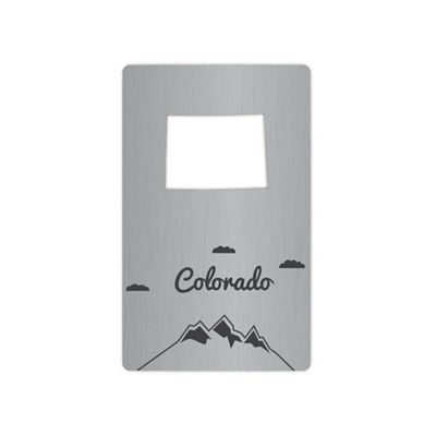 Zootility Tools Colorado Wallet Bottle Opener