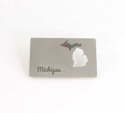 Zootility Tools Michigan Wallet Bottle Opener