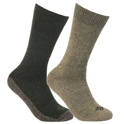 Columbia Men's Colorblock Stripe Moisture Control Crew Sock