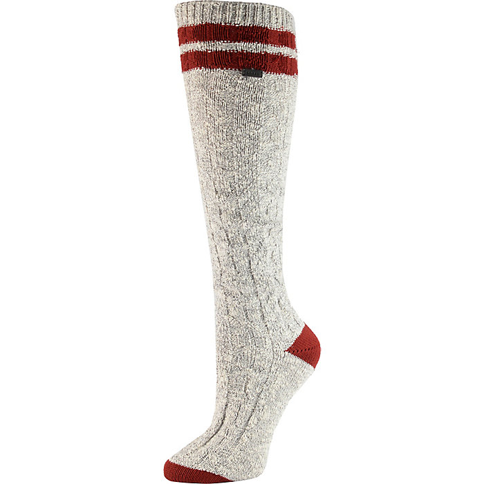 67889ac614b Sorel Women s Varsity Stripe Cotton Cable Knee High Sock - Moosejaw