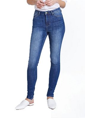 dish Women's Performance Denim High Rise Skinny Jean