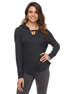 0435a53905b Roxy Women s Wanted and Wild 2 Solid Hoodie. BLACK